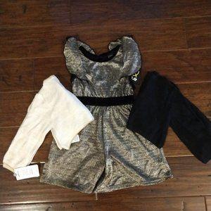 Baby Girls Fancy Jumper w/ Matching sweaters 12M